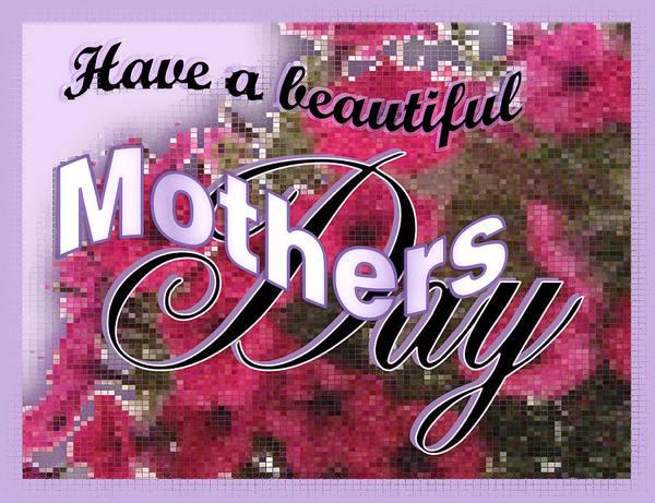 Digital Art - Mothers Day Pink Petunias by Susan Kinney