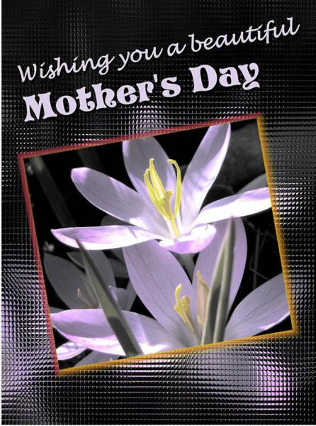 Digital Art - Mothers Day Wish by Susan Kinney