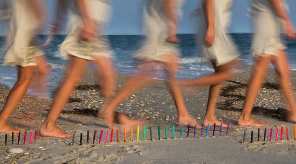 Strolling Photograph - Motion by Betsy Knapp