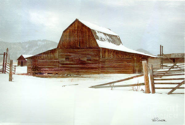 Photograph - Moulton Barn by Bob Senesac