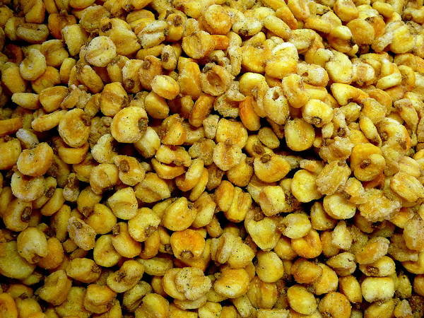 Photograph - Mound Of Corn Nuts by Jeff Lowe
