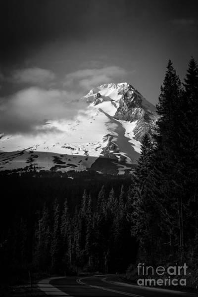 Timberline Photograph - Mount Hood Hwy 26 2 by Scott Sawyer