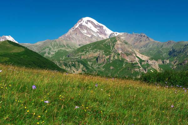 Photograph - Mount Kazbek by Ivan Slosar