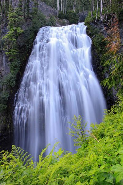Photograph - Mount Rainier Narada Falls by Pierre Leclerc Photography