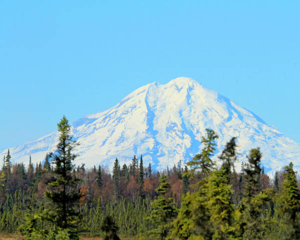 Mount Redoubt Photograph - Mount Redoubt  by Terry Cotton
