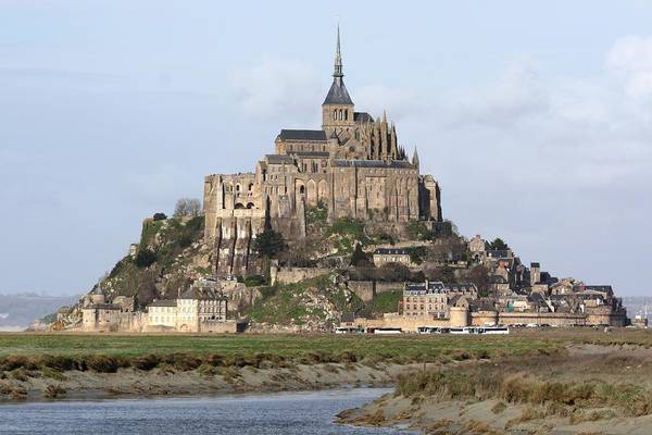 Church Photograph - Mount St Michel by Jérôme S.