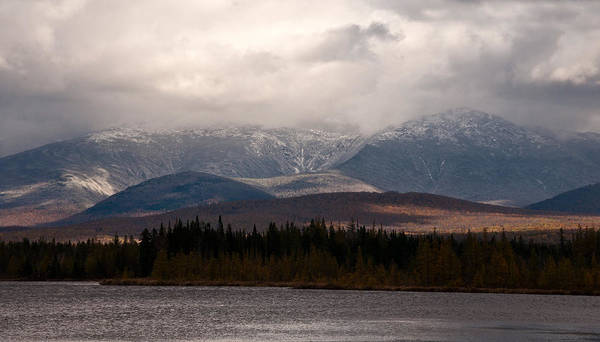 Photograph - Mount Washington And The Cherry Pond by Nancy De Flon