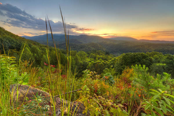 Boyd Photograph - Mountain Evening by Debra and Dave Vanderlaan