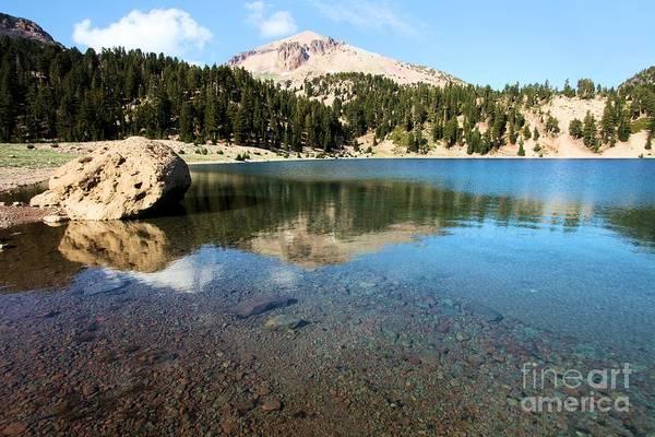 Photograph - Mountain Lake Reflections by Adam Jewell