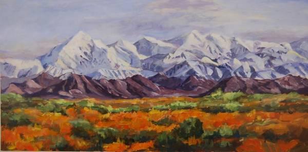 Painting - Mountain Range by Ingrid Dohm