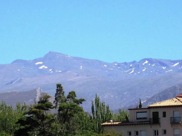 Photograph - Mountain Range View From Alhambra Granada Spain by John Shiron