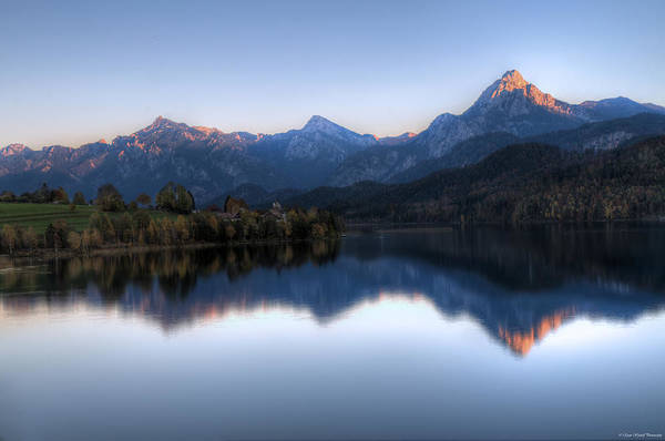 Photograph - Mountain Reflections by Ryan Wyckoff