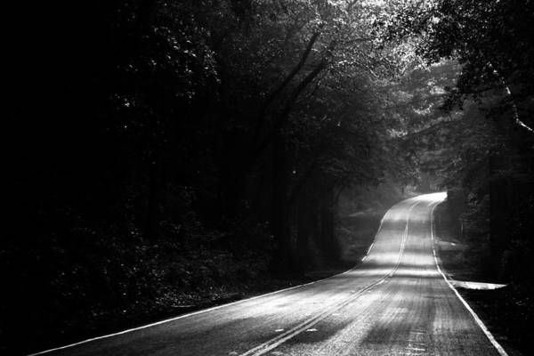 Woodside Photograph - Mountain Road II by Matt Hanson