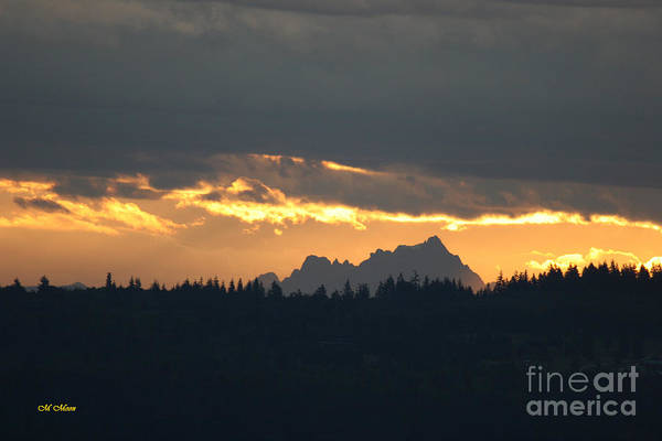 Photograph - Mountain Sunrise by Tap On Photo