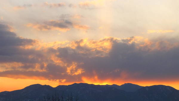Photograph - Mountain Sunset2 by Eric Dee