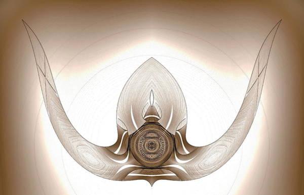 Mounted Bull Horns Art Print