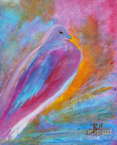 Painting - Mourning Dove by Claire Bull