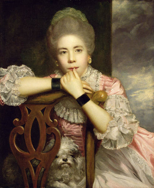 Fanny Photograph - Mrs Abington As Miss Prue In Congreve's 'love For Love'  by Sir Joshua Reynolds