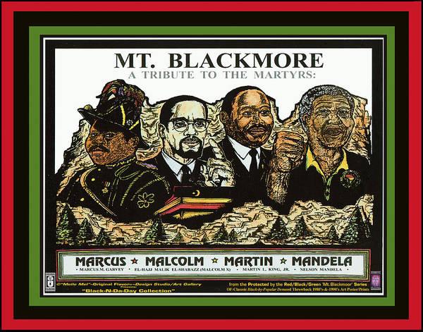 Mlk Digital Art - Mt Blackmoor Vol 1 - No 1 by Melvin Robinson