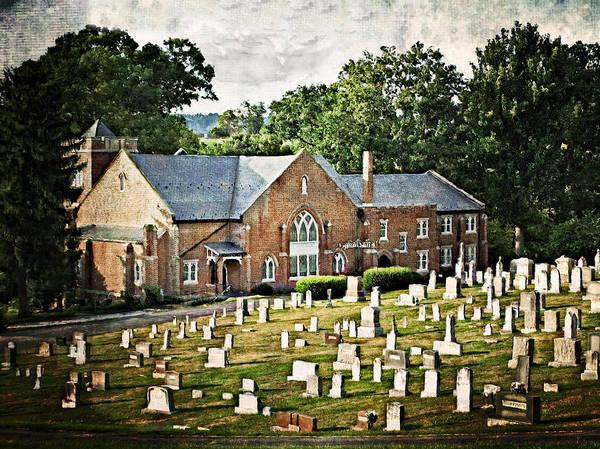 Rockbridge County Photograph - Mt. Carmel Church by Kathy Jennings