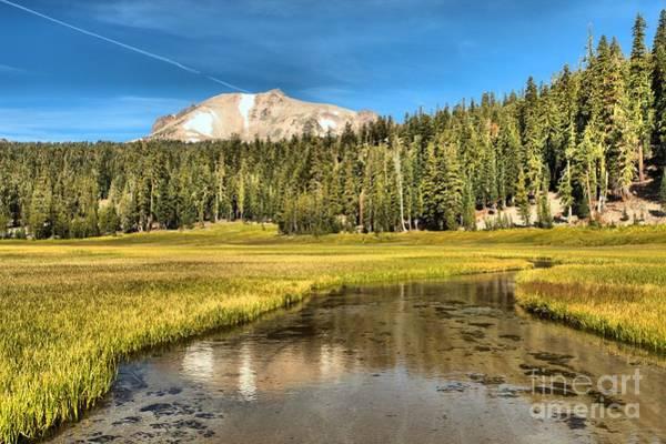Photograph - Mt Lassen Reflections by Adam Jewell