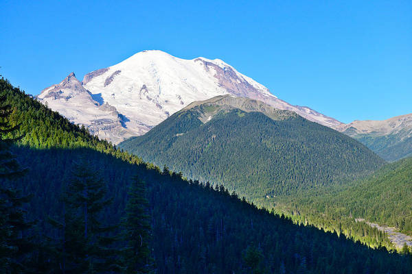 Photograph - Mt Rainier East View by Greg Norrell