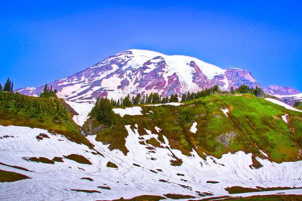 Photograph - Mt. Rainier Iv by David Patterson