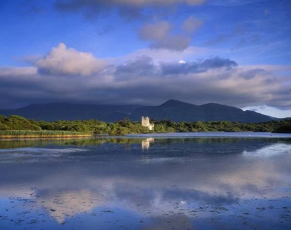 Horizontally Photograph - Muckross Lake, Ross Castle, Killarney by The Irish Image Collection