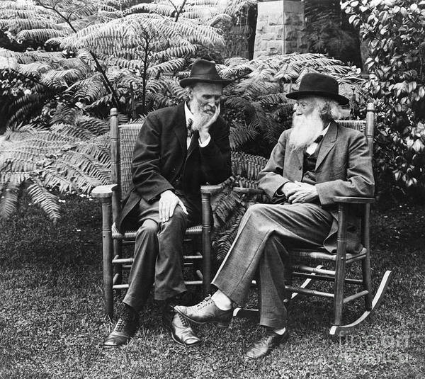Photograph - Muir & Burroughs, C1909 by Granger