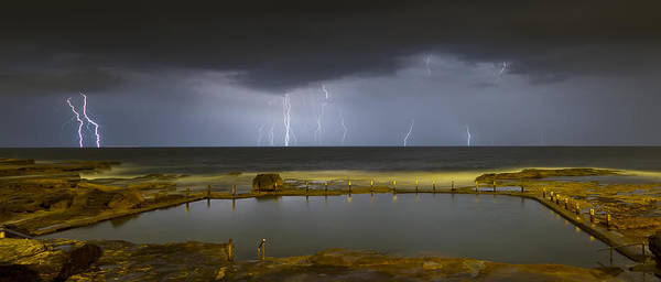 Photograph - Multiple Strikes by Mark Lucey