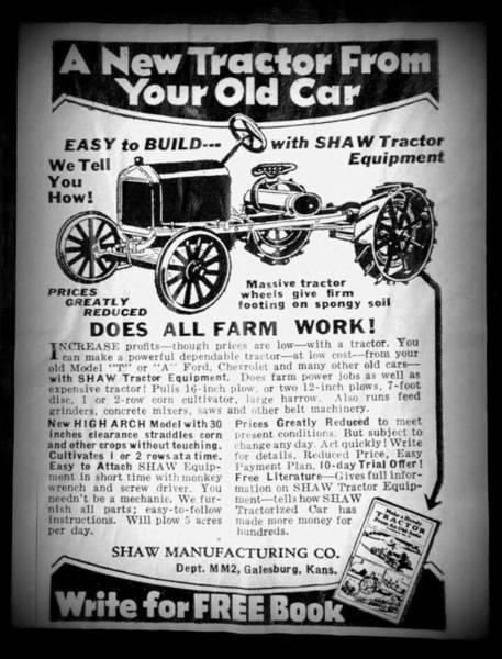 Smallholding Photograph - Multipurpose Vehicle Advert II by Richard Reeve