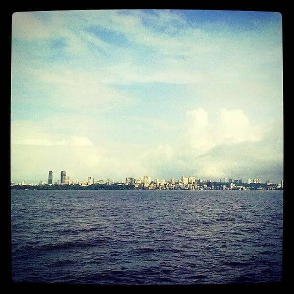 Mumbai Skyline Art Print