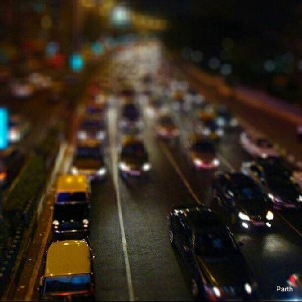 Transport Photograph - Mumbai Traffic  by Parth Patel