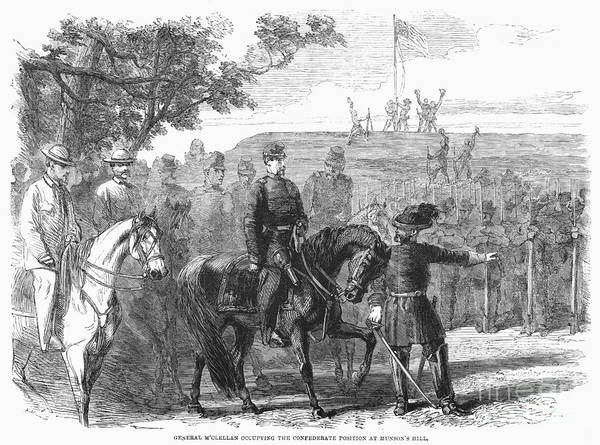 Photograph - Munsons Hill, 1861 by Granger