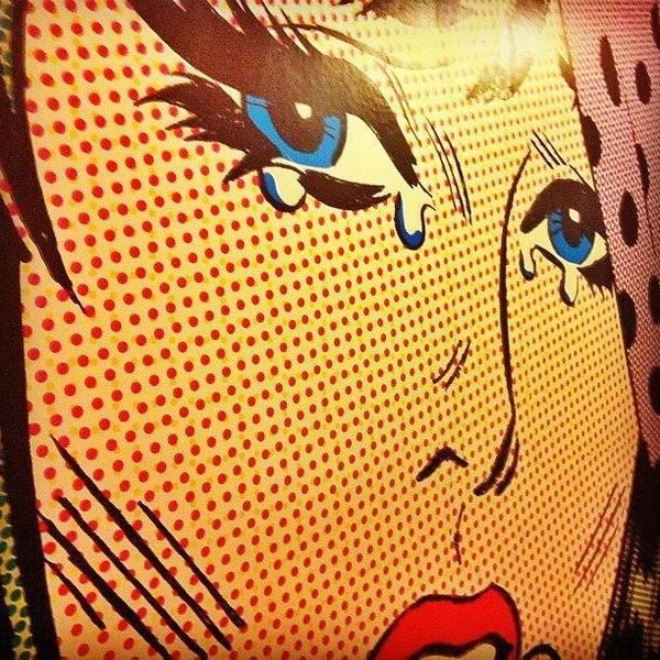 Comics Wall Art - Photograph - Mural Tertulia Bar by Jose Manosalva