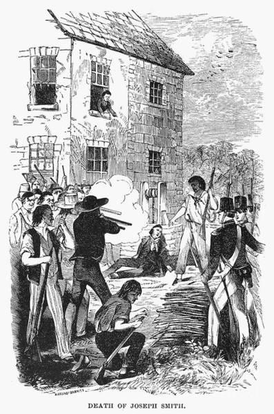 Militiaman Photograph - Murder Of Smith, 1844 by Granger