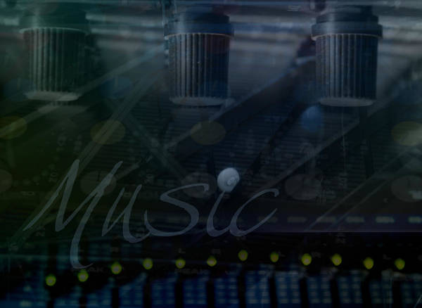 Wall Art - Photograph - Music by Affini Woodley
