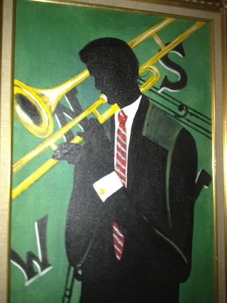 Benny Painting - Music Man by Benny Davis
