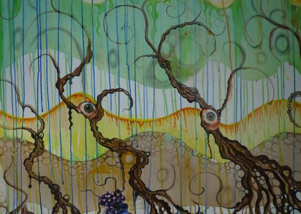 Mutants Mixed Media - Mutated Mangroves by Douglas Fromm