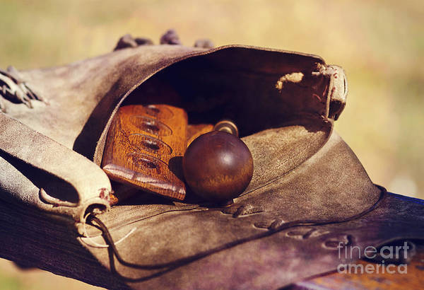 Photograph - Muzzle Loader's Tools-color by Pam  Holdsworth