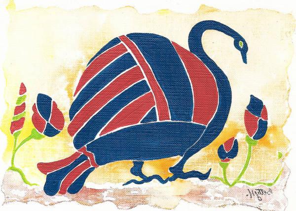 Wall Art - Painting - My Big Fat Greek Goose 1 by Elisabeta Hermann