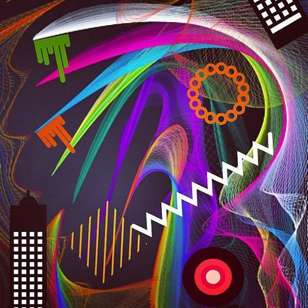 Vivid Wall Art - Photograph - My Brain On Drugs by C.j. Egoz