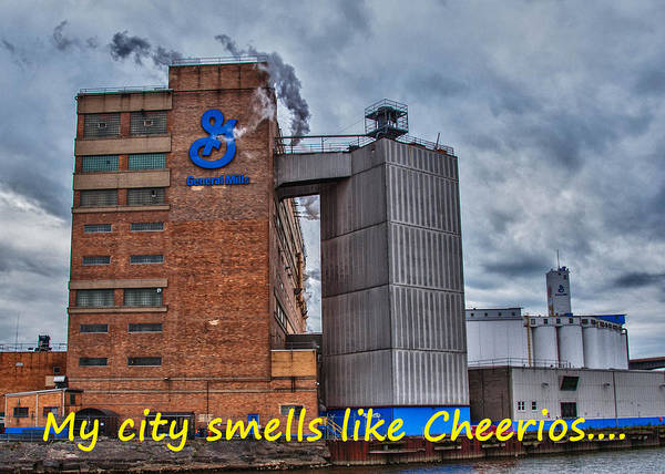 Photograph - My City Smells Like Cheerios by Guy Whiteley