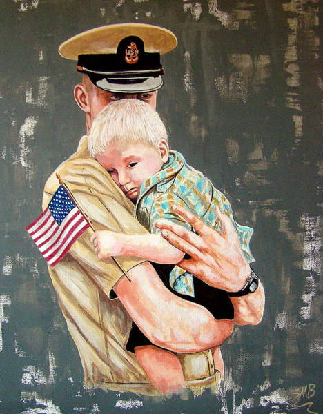 Bergstrom Painting - My Daddy by Susan Bergstrom