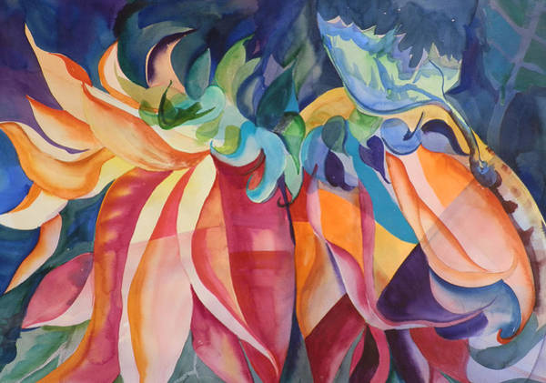 Elwood Blues Painting - My Favorite Colors by Jann Elwood
