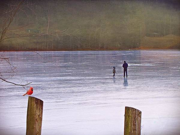 Photograph - My First Walk On Water by David Dehner