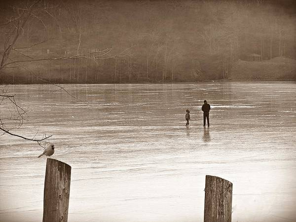 Photograph - My First Walk On Water S by David Dehner