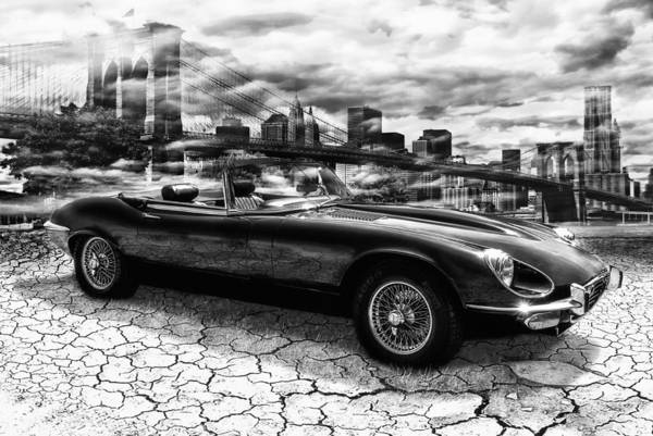 Sportscar Photograph - my friend Jag-E by Joachim G Pinkawa