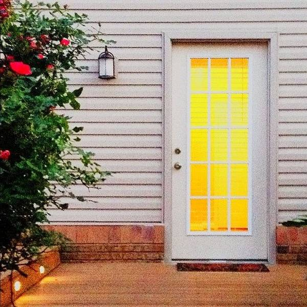 Home Wall Art - Photograph - My #kentucky #home Backdoor by Irina Moskalev