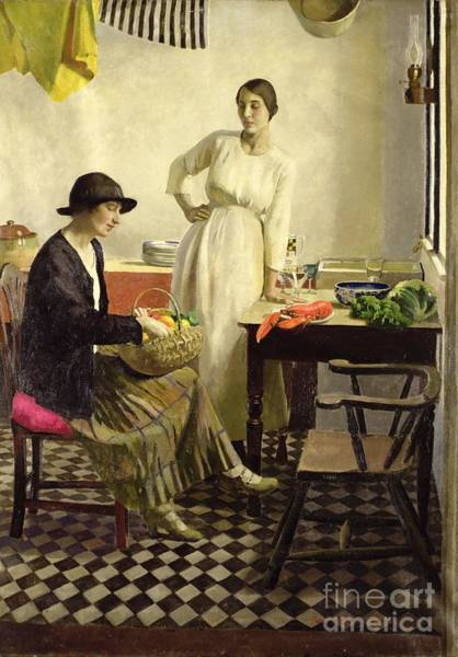 Sink Painting - My Kitchen by Harold Harvey